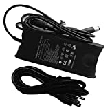Dell PA-21 65W AC Power Adapter Supply Cord/Charger 19.5V 3.34A 65 W AC Adapter For Notebook Model: Dell Inspiron 1318, Dell Inspiron 15, Dell Inspiron 1545, Dell Inspiron 1750, Dell XPS M1330, 100% Compatible With P/N: PA-21, PA21, Family 21, 310-9249, HR763, LA65NS2-00, NX061, PA-1650-02DW, XK850, YR733