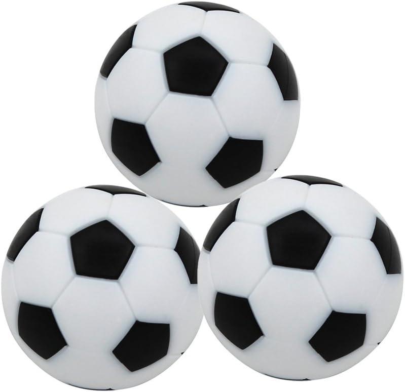 STOBOK 12 Piezas Bolas de Fútbol de Mesa Juego de Mesa Mini ...