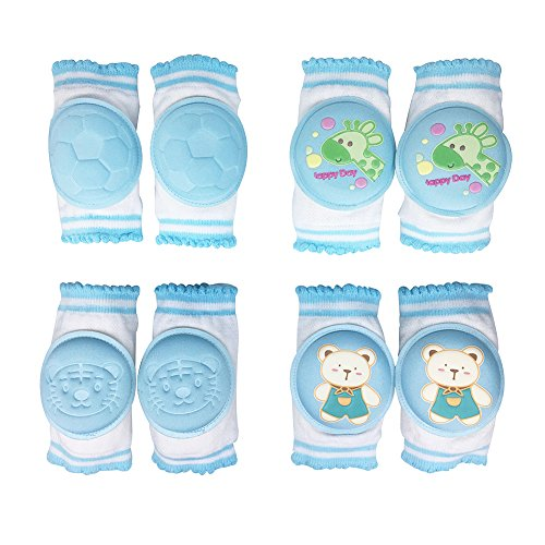 Baby Knee Pads, Oukinakinn Walking Kneepads for crawling Memory Foam Pad Cushion