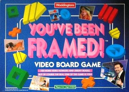 You\'ve Been Framed ! VHS Board Game: Amazon.co.uk: Toys & Games