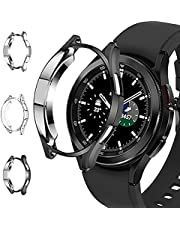 Voor Samsung Galaxy Watch 4 40mm Case, voor Samsung Galaxy Watch4 TPU Shell Dunne Zachte Flexibele Uitsparing Frame Protector Cover: