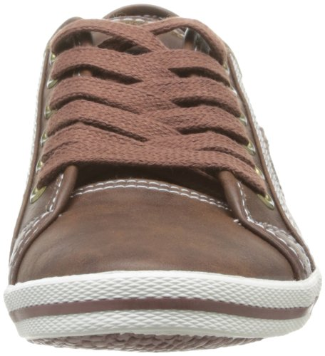 Kappa Willys Damen Sneaker Braun - Marron (Grey Lead)