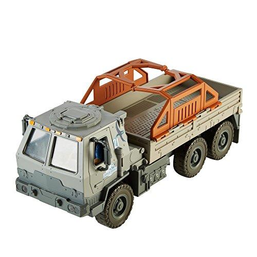 Matchbox Jurassic World Vehicle Off-Road Rescue Rig, Lights & Sounds