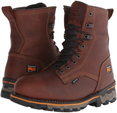 PRO メンズ 8インチ Boondock ソフトトゥー 防水 作業と狩猟用ブーツ