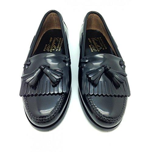 Castellano® 1920 Madrid - Mocasín con Flecos y borlas en florentick Negro para Mujer: Amazon.es: Zapatos y complementos