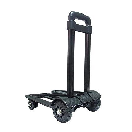 9fa23bb7ac3d Amazon.com : YAXuan Folding Hand Truck Trolley, Maximum Load-Bearing ...