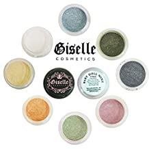 Giselle Cosmetics – ♦BABY DOLL MINT♦ Best Mineral Makeup for: Eye shadow • Eyeliner • Lip Colour • Nail Polish • Blush • Hair Lightener • 100% Pure Mineral Powder