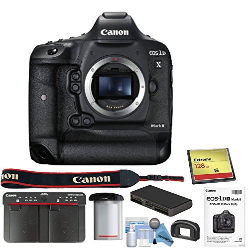 Memory Eos 1d Canon Flash (Canon EOS-1DX Mark II DSLR Camera (Body) with Starters Kit)