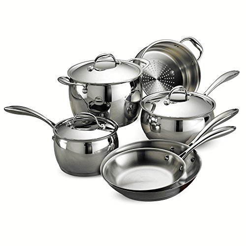 Tramontina 80102/201DS Gourmet Domus 9 Piece Cookware Set
