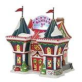 Department 56 North Pole Series Santa's Workshop Village Lit Building, Multicolor
