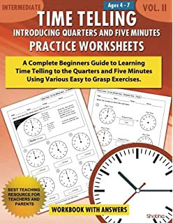 The complete book of time money grades k 3 thinking kids time telling introducing quarters and five minutes practice worksheets workbook with answers daily fandeluxe Choice Image