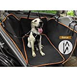 Cheap WINSEE Dog Car Seat Covers Pet Backseat Cover, Durable Dog Car Hammock Car Seat Protector with Side Flaps &Soft Mat, Bonus Seatbelt Leash, 100% Waterproof Anti-Scratch Nonslip Backing Machine Washable