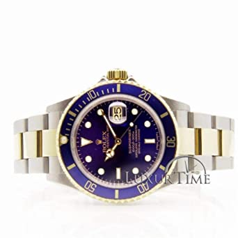 d2849385d1e Amazon.com: Rolex Submariner Automatic-self-Wind Male Watch 16613 ...