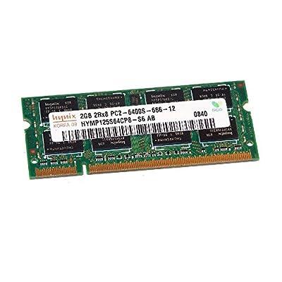 2GB RAM PC portátil SODIMM Hynix hymp125s64cp8-s6AB DDR2PC2–6400S 800MHz CL6
