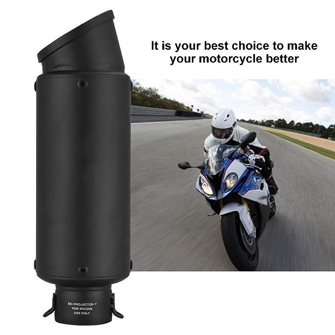 Ejoyous - Silenciador de escape para motocicleta (51 mm ...