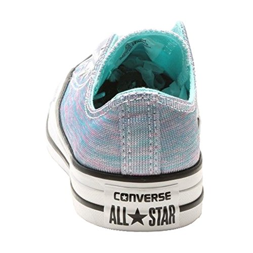 Converse Womens Chuck Taylor All Star Ox Canvas Trainers Light Aqua Black