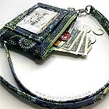 Deer Buck Tula Pink ID Wallet Lanyard Badge Holder Cash and Coin Purse