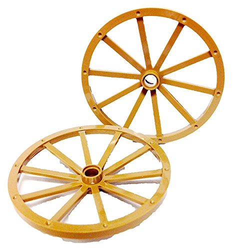 Lego Parts: Stagecoach Rear Wagon Wheels