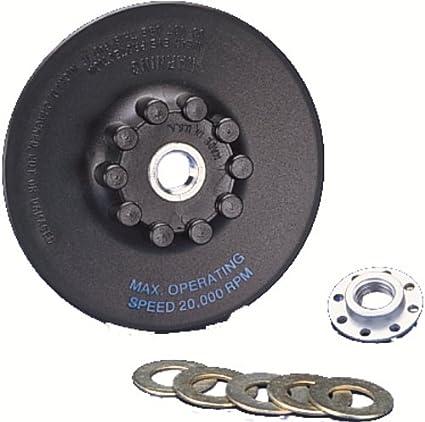 1-Pack United Abrasives-SAIT 95023 4-1//2-Inch Low Profile Saitlok Pad