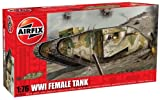 Airfix A02337 1:76 Scale WWI Female Tank Military Vehicles Classic Kit Series 2