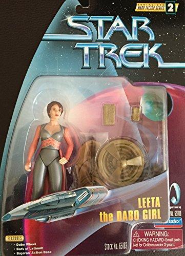 Star Trek Leeta the Dabo Girl Doll Figure. Deep 2 Space Nine Warp Factor Series 2 Deep Action Figure by Star Trek 453cba