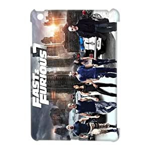 Lycase(TM) Fast and Furious 7 DIY 3D Cover Case, Fast and Furious 7 Ipad Mini Hard Back 3D Case