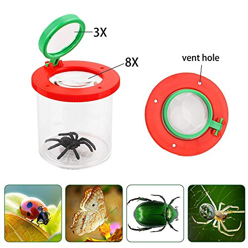 Euone  Kids Toy Magnifier Clearance Sale , Magnifier Backyard Explorer Insect Bug Viewer Collecting Kit for Children