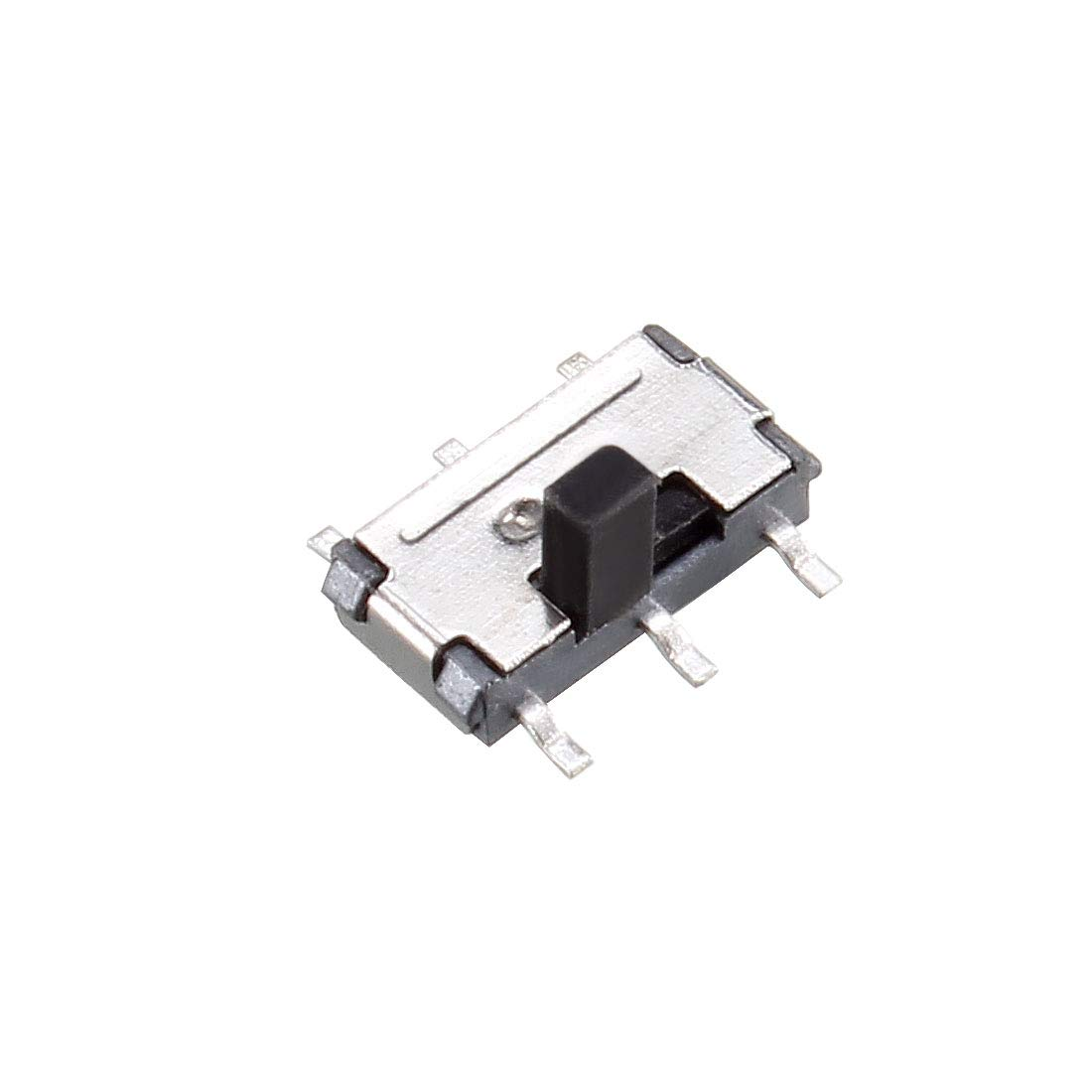 uxcell 20 Pcs On//On 2-Position DPDT 6 Pin Vertical Mini SMD SMT Slide Switch