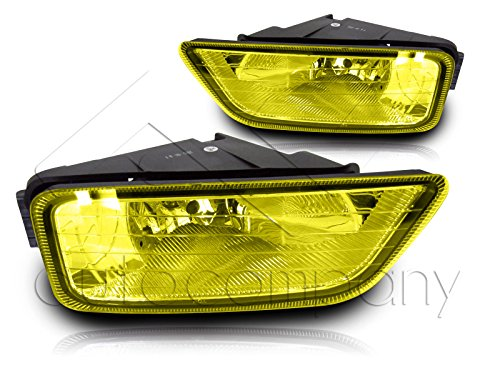 Fit 04-08 Acura TL Fog Light JDM w/Wiring Kit (Yellow) ()