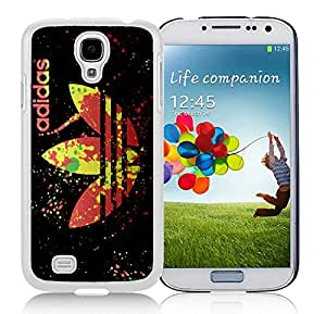 Fashion Designed Cover Case For Samsung Galaxy S4 I9500 i337 M919 i545 r970 l720 With Adidas 13 White Phone Case