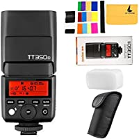 Godox TT350S 2.4G HSS 1 / 8000s TTL GN36 Camera Speedlite Compatible Sony Mirrorless Digital Camera