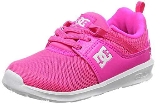 DC Shoes Heathrow, Zapatillas Para Niñas Rosa (Pink)