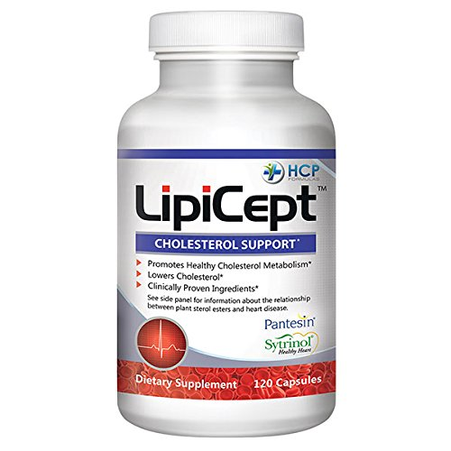 LipiCept Cholesterol Support - 120 Capsules