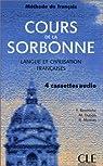Cours de la Sorbonne, Langue et civilisation françaises par Dubois