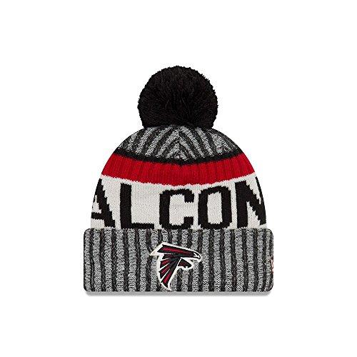 New Era Atlanta Falcons NFL Sideline On Field 2017 Sport Knit Beanie Beany Mütze – DiZiSports Store
