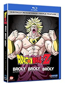 Dragon Ball Z: Broly Triple Feature (Broly/Broly Second Coming/Bio-Broly) [Blu-ray] by Funimation Prod