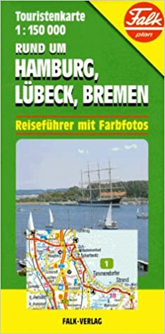 Buy Rund um Hamburg Lubeck Bremen Tourist Map Book Online at Low