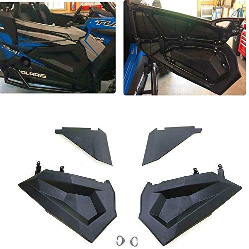 RZR Lower Half Door Inserts Panels with OEM Style Frame Works for 2014-2019 Polaris RZR S 900 XP 1000 Turbo 60