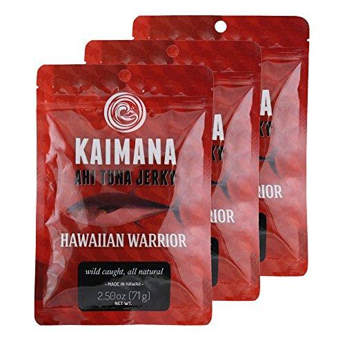 Hawaiian Warrior Ahi Tuna Jerky 2.5 Oz (3 Pack)