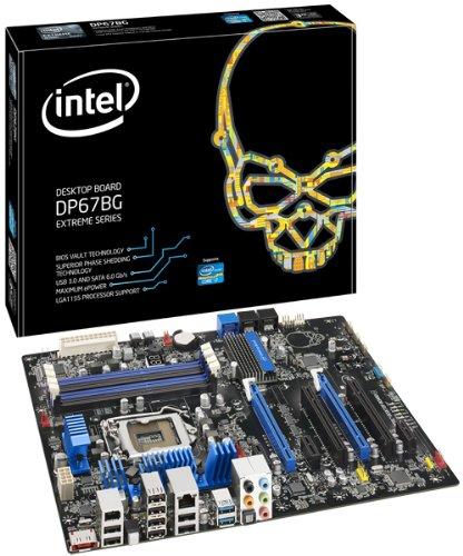 P67 Chipset - Intel BOXDP67BGB3 Socket 1155, Intel P67, CrossFireX & SLI, SATA3&USB3.0, A&GbE, ATX Motherboard