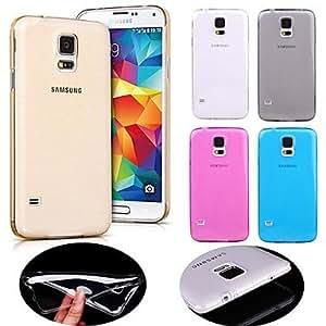 Teléfono Móvil Samsung - Cobertor Posterior - Color Sólido - para Samsung Galaxy Mini S5 ( Negro/Blanco/Azul/Rosa/Dorado , TPU ) , Rose