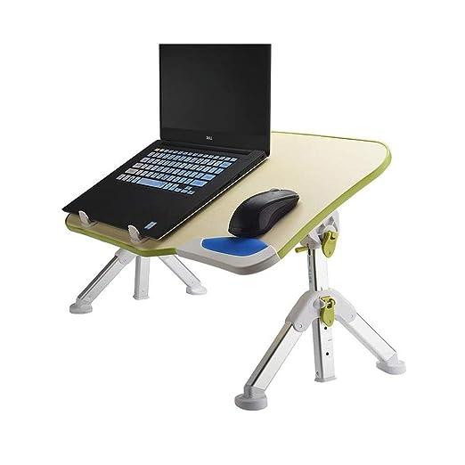 ZPWSNH - Mesa Plegable para Ordenador portátil, Altura y ángulo ...