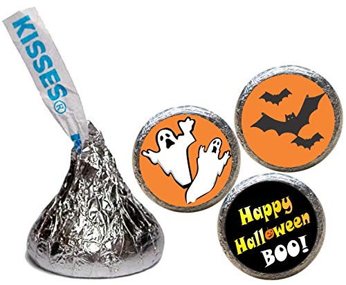 Halloween Stickers for the bottom of chocolate Kisses
