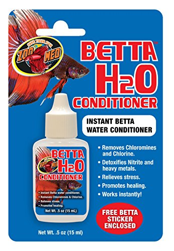 Zoo Med Betta H2O Conditioner,0.5 oz