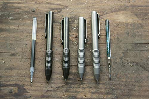 BIG IDEA DESIGN Ti Pocket Pro : The Auto Adjusting EDC Pen (Antique Black) by BIG IDEA DESIGN (Image #2)