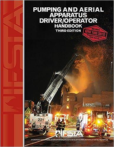 pumping and aerial apparatus driver operator handbook ifsta fire