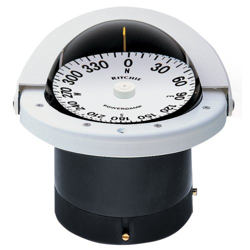 1 - Ritchie FN-201W Navigator Compass - Flush Mount - White by Ritchie
