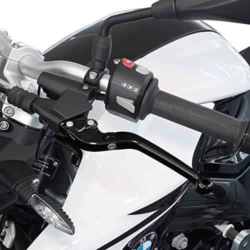 ER-6n Motorrad Bremshebel /& Kupplungshebel Set SW//SIL Safety klappbar ABE f/ür Kawasaki ER-6f Versys 650