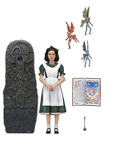 Guillermo-del-Toro signature collection pans-labyrinth Ophelia with monument 7-inch action figure