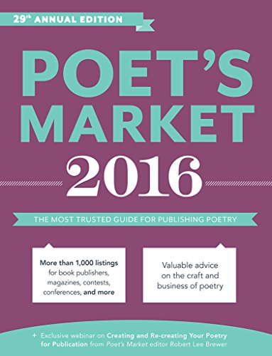 Poet's Market 2016: The Most Trusted Guide for Publishing Poetry by Writer's Digest Books